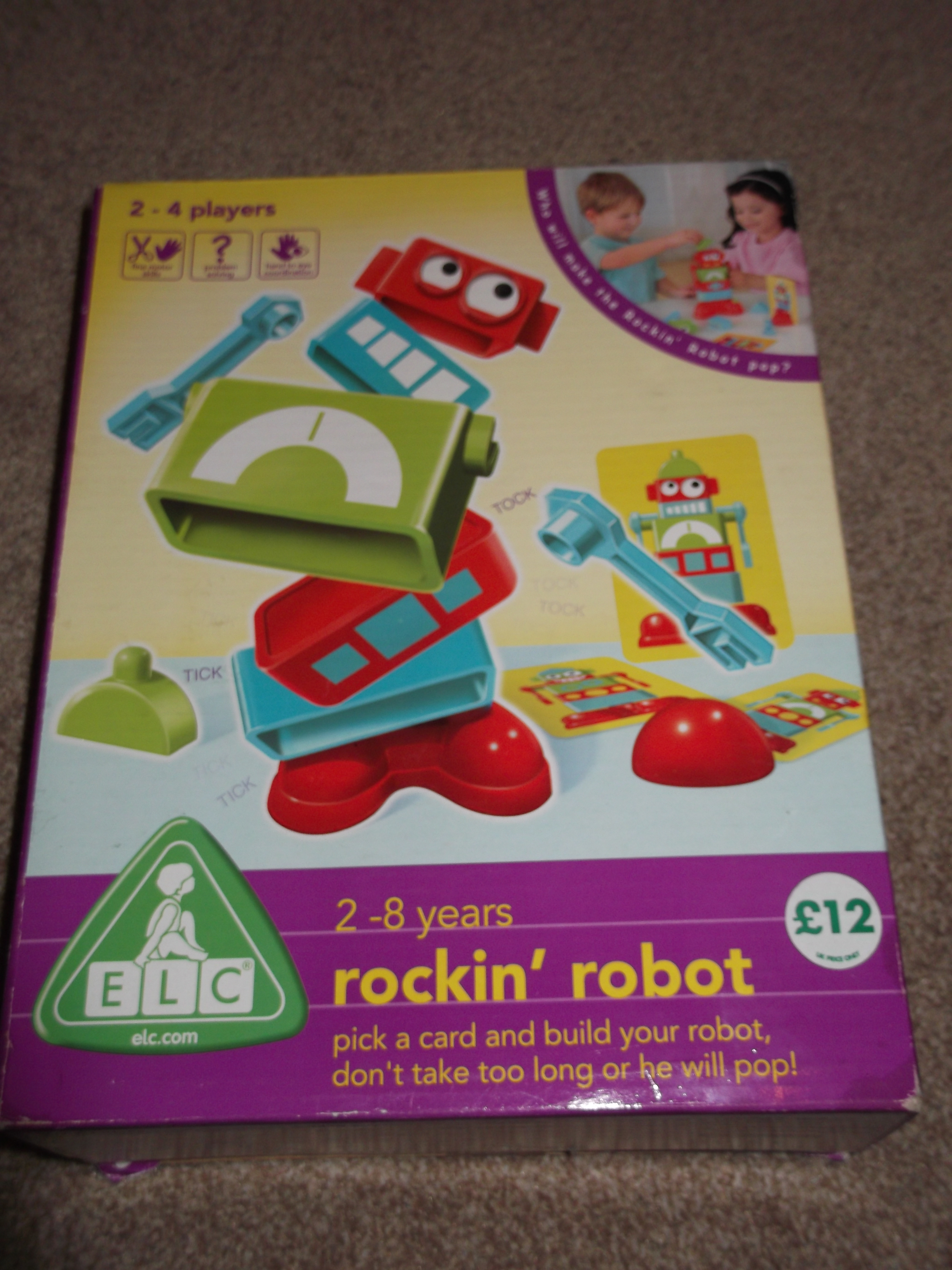 Rockin Robot game review by Helen Speechbloguk