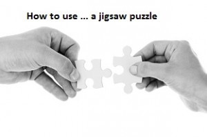 How to use a … jigsaw puzzle