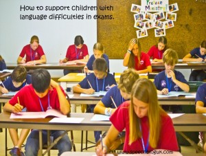 How to support children with language difficulties in exams