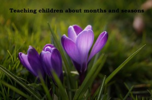 Teaching children about months and seasons