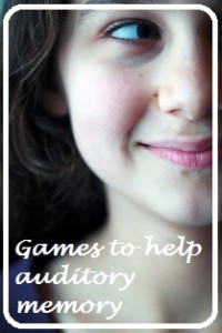 Games to improve auditory memory