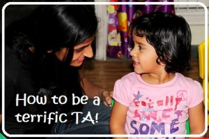 How to be a terrific TA!