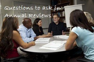 Questions to ask in Annual Reviews