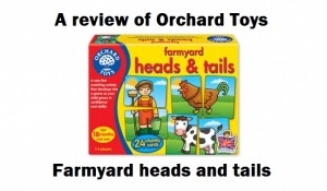 Orchard Toys – Farmyard heads and tails