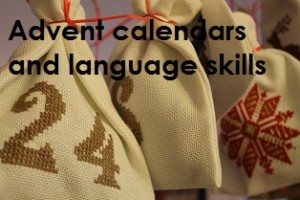 Advent calendars and language skills by Helen