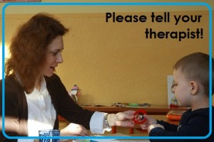 Please tell your therapist!!   by Elizabeth