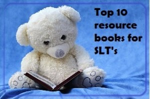 Top 10 resource books for Speech Therapists