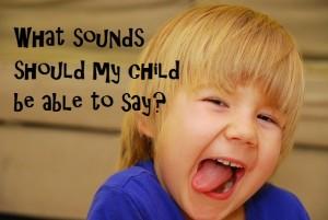 speech sound development