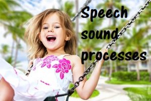 Speech sound processes