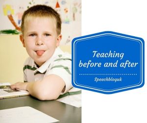 How to teach before and after