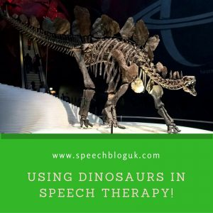 How to use Dinosaurs in Speech Therapy!