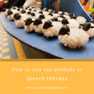 How to use toy animals in therapy