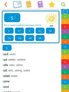 Phonics spelling dictionary – app review