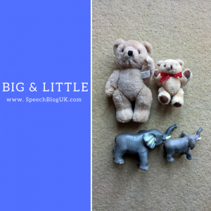 Big or little? Ideas for teaching size concepts