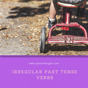 Irregular past tense verbs – Ideas on how to teach them