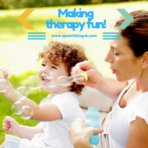 Making therapy fun!