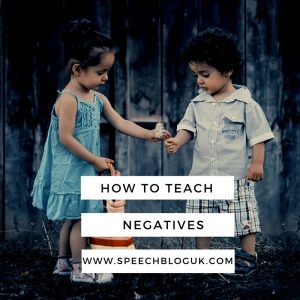 How to teach negatives