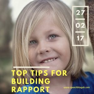 Top tips for building rapport with children