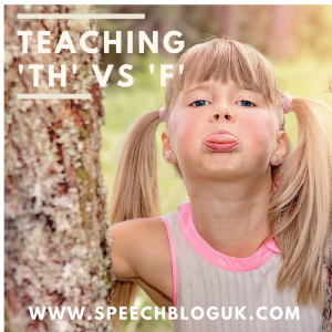 Teaching f vs th