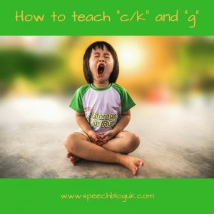 "How to teach a child to say ""k"""