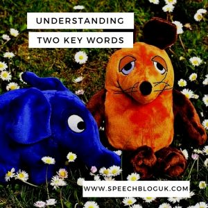 Understanding two key words