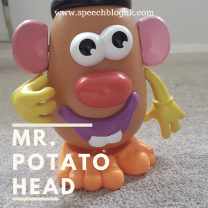 How to use Mr. Potato head in speech therapy