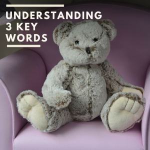 Understanding three key words