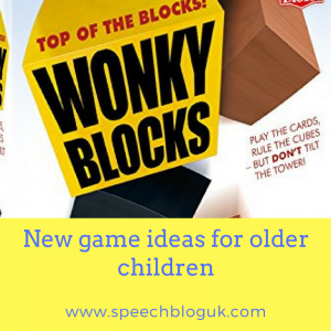 New games for older children
