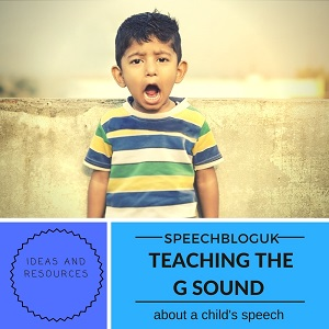 "How to teach a child to say ""g"""