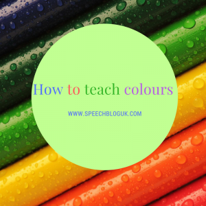 How to teach colours