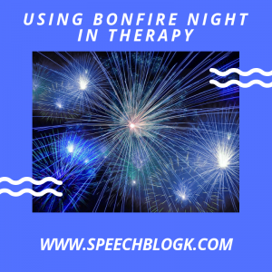 Using Bonfire Night in therapy sessions